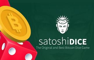 SatoshiDice spel med Bitcoin